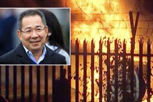 Clip: Hiện trường vụ rơi máy bay chở tỷ phú Thái Lan