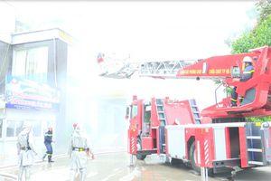 Tổ chức diễn tập phương án chữa cháy và cứu nạn, cứu hộ phối hợp nhiều lực lượng