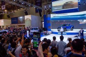 Triển lãm Ô tô Việt Nam thu hút sự quan tâm của 185.000 khách hàng