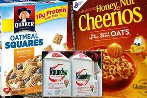 Mỹ: Phát hiện chất gây ung thư của thuốc diệt cỏ trong ngũ cốc trẻ em