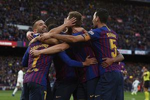 Không còn Ronaldo, Real Mardid thảm bại trước Barca bằng tỉ số không tưởng