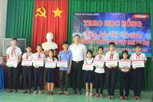 Vedan Việt Nam trao học bổng cho học sinh nghèo vượt khó tỉnh Đồng Nai