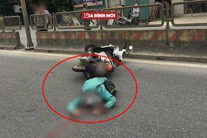 Cô gái quốc tịch Mỹ đi xe máy tự ngã tử vong trên Quốc lộ 1A tại địa bàn Hà Nam
