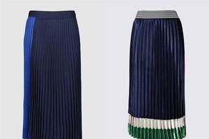 Chân váy midi xếp ly - item không thể thiếu trong tủ đồ đón thu