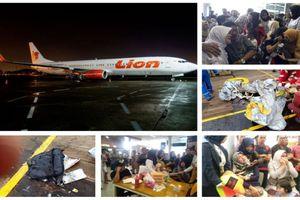 Indonesia: Máy bay chở 189 người rơi xuống biển, có hai trẻ sơ sinh