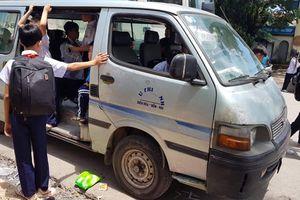 Đồng Nai: Xử lý hàng loạt xe 'quá đát' đưa đón học sinh