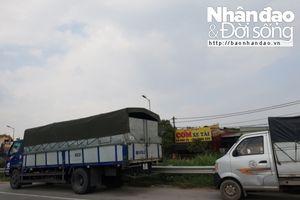 Nguy cơ mất an toàn giao thông từ việc dừng đỗ trên tuyến đường vành đai 3