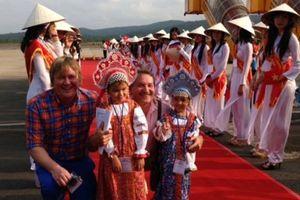 Việt Nam là điểm du lịch mùa thu ưa thích của người Nga
