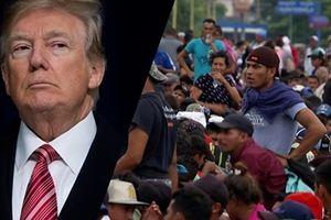 Tổng thống Trump tuyên bố sốc về đoàn di cư Nam Mỹ, dọa dùng quân đội đối phó