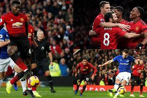 Toản cảnh MU 2-1 Everton: Quỷ đỏ 'lột xác' trong ngày Lukaku dự bị