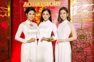 Hoa hậu Mỹ Linh, Tiểu Vy và Ngọc Hân đọ sắc khi cùng diện áo dài trắng
