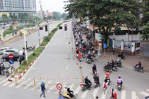 Giao thông trên đường Kim Mã trật tự thông suốt trong giờ cao điểm
