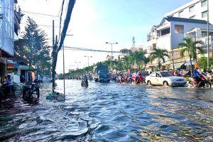 Khó giải bài toán ngập lụt đô thị