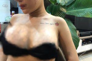 Thực hư việc nữ ca sĩ bị vỡ túi độn ngực trên máy bay