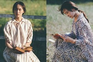 Cô dâu mới Đường Yên dịu dàng trên tạp chí Vogue