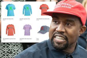 Kanye West ra mắt áo thun ngầm ủng hộ Donald Trump?