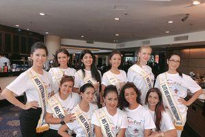 Loan Vương 'khóc thét' tại cuộc thi Hoa hậu Quý bà Quốc tế 2018