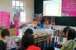 CĐ Dệt may VN tìm giải pháp nâng cao chất lượng công tác nữ công