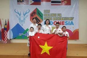 Học sinh Việt Nam thắng lớn tại cuộc thi Thử thách nhà Toán học tương lai