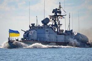 Ukraine dùng tàu pháo dọa Nga tại Biển Azov