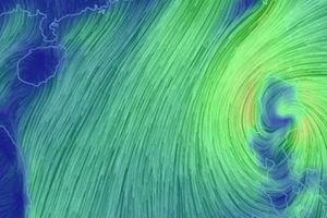 Siêu bão Yutu giật cấp 15 bắt đầu đổi hướng đi vào Biển Đông