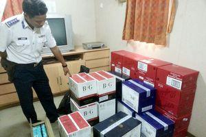 Cảnh sát biển bắt giữ tàu vận chuyển hàng hóa trái phép