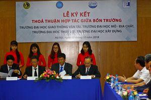 Thỏa thuận hợp tác giữa 4 đại học hàng đầu về khoa học kỹ thuật