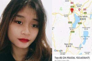 Thiếu nữ 17 tuổi nghi bị bắt cóc sang Trung Quốc, nhắn tin cầu cứu gia đình