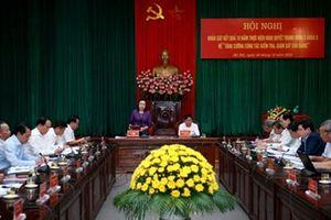 Hà Nội: Kỷ luật trên 1000 đảng viên và 56 tổ chức Đảng