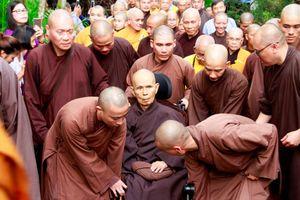 Thiền sư Thích Nhất Hạnh nguyện vọng được viên tịch tại Tổ đình Từ Hiếu