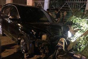 Thượng tá lái ô tô gây tai nạn liên hoàn, nhiều người bị thương