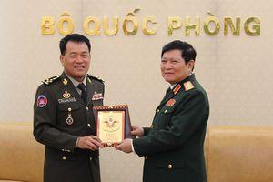 Hội đàm quân sự cấp cao Việt Nam - Campuchia