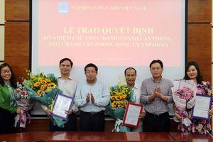 Tập đoàn Dầu khí Việt Nam bổ nhiệm Chánh/Phó Văn phòng Đảng ủy Tập đoàn