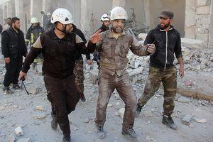Tướng Nga: Mũ bảo hiểm trắng quay phim giả mạo sử dụng vũ khí hóa học