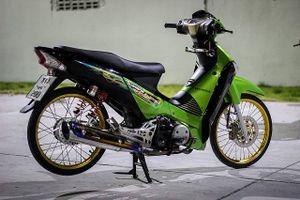 Honda Wave 125i khoe cá tính trong bản độ đầy màu sắc đậm chất Thái Lan