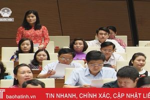 Đoàn ĐBQH Hà Tĩnh thảo luận dự toán ngân sách Nhà nước