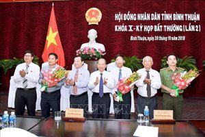 Bình Thuận tổ chức kỳ họp bất thường bầu các chức danh UBND tỉnh