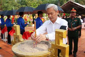 Truy điệu, an táng các hài cốt liệt sĩ tìm thấy tại Bàu Cạn, Đồng Nai