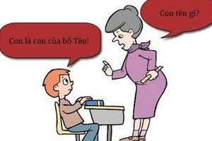 Sáng cười: Bà mẹ gặp rắc rối chỉ vì con quá vâng lời
