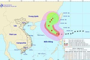 Dự báo thời tiết 31/10: Bão Yutu đã đi vào Biển Đông, sức gió giật cấp 13