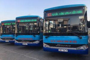Hà Nội thay mới loạt xe buýt chất lượng cao tuyến 63