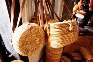 Độc đáo làng nghề mây tre đan Phú Vinh