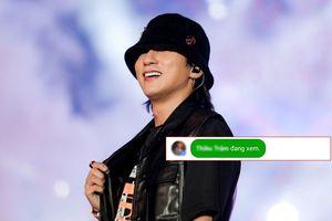 Netizen nhập vai 'thám tử' thành công: Phát hiện Thiều Bảo Trâm xem livestream buổi biểu diễn của Sơn Tùng