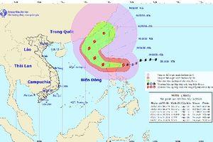 Bão Yutu vào Biển Đông, chính thức trở thành cơn bão số 7