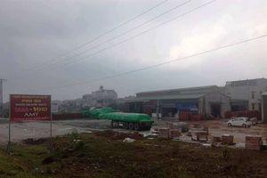 Vĩnh Phúc: Chợ xây dựng theo tiêu chí NTM cho doanh nghiệp ''mượn' để tập kết vật liệu xây dựng