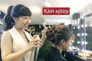 'Cầm tay chỉ việc' giúp học trò kiếm tiền ngay sau khóa học làm tóc
