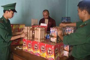 Quảng Trị: Bắt giữ đối tượng vận chuyển 80kg pháo lậu khu vực biên giới