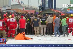 Indonesia đẩy mạnh công tác tìm kiếm cứu nạn máy bay rơi xuống biển