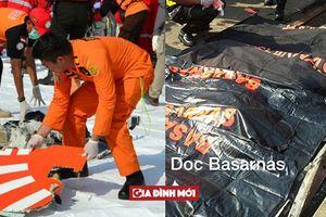 Indonesia đã trục vớt 21 thi thể nạn nhân đầu tiên vụ máy bay Lion Air rơi
