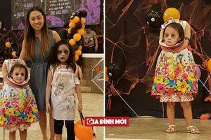 Chấp hết mọi loại ma quỷ, cô bé Philippines 'ôm đầu' đi xin kẹo Halloween